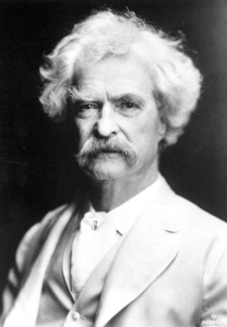 Mark Twain writing advice